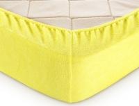 Простыня махр. Желтая