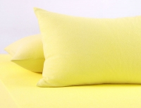 Наволочки махр. Желтые