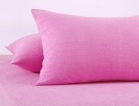 Наволочки махр. Розовые